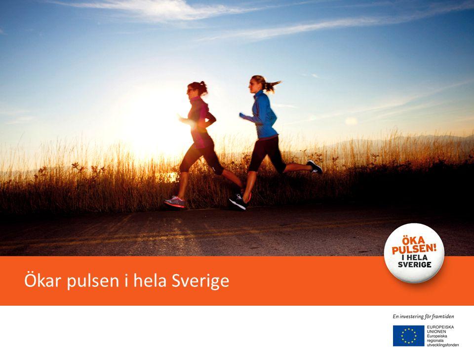 Ökar pulsen i hela Sverige