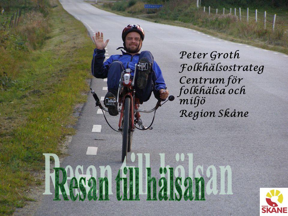 Peter Groth Folkhälsostrateg Centrum för folkhälsa och miljö Region Skåne