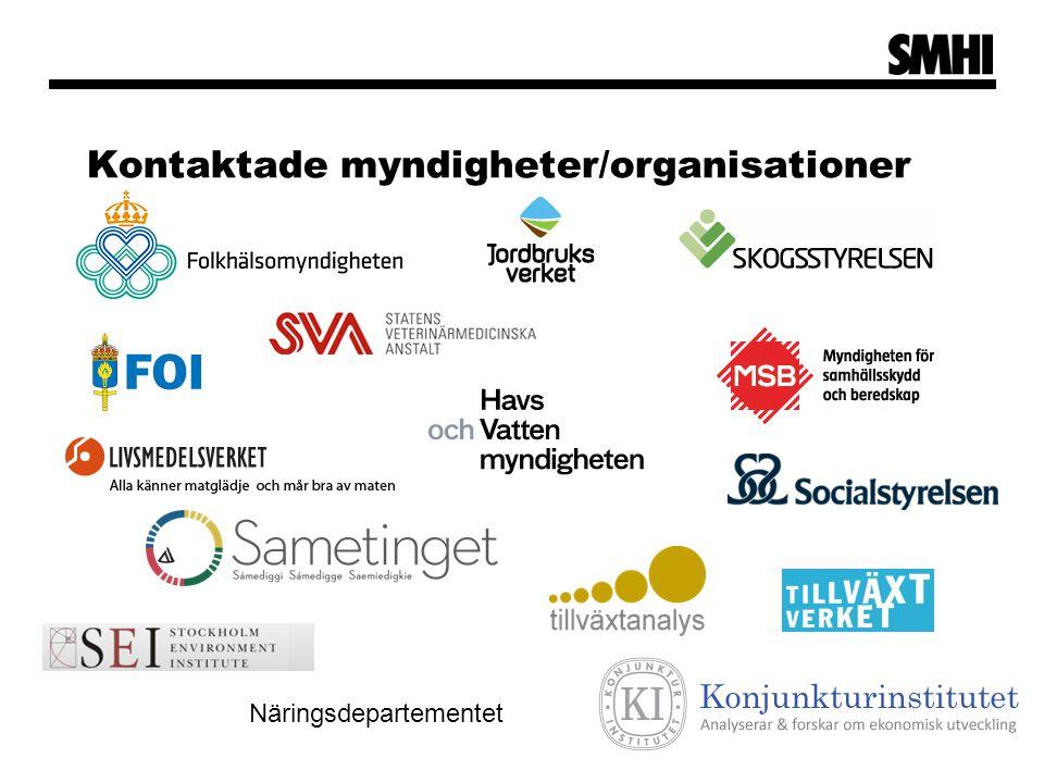 Areella näringar  Skogsbruket: Konsekvenserna för den svenska skogen och skogsbruket kommer att bli betydande.