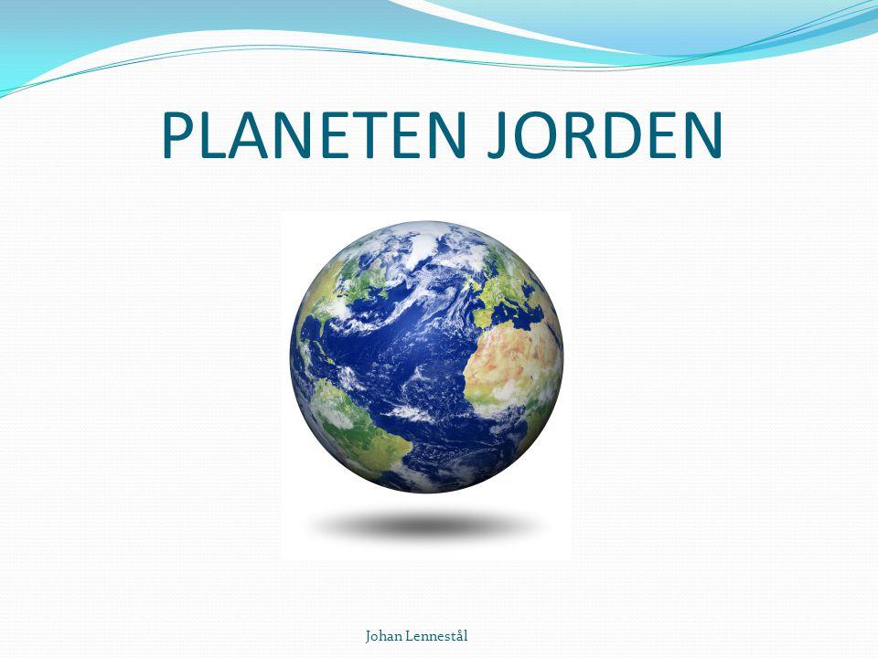 PLANETEN JORDEN Johan Lennestål