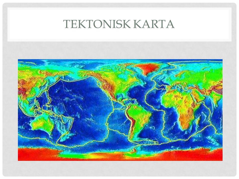 TEKTONISK KARTA