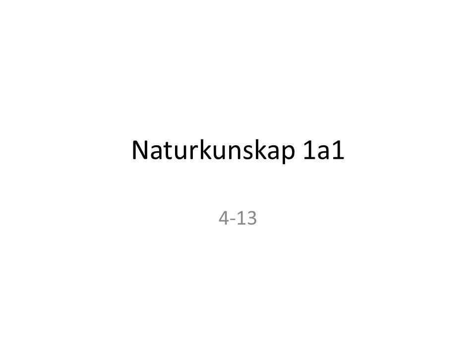 Naturkunskap 1a1 4-13