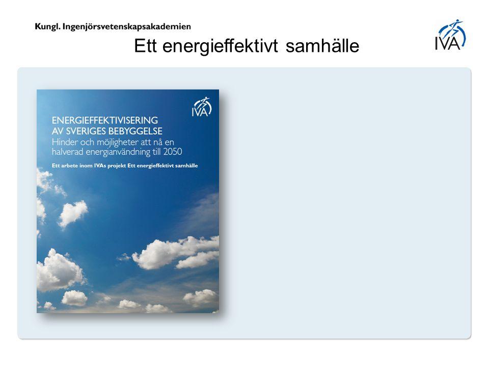 Ett energieffektivt samhälle