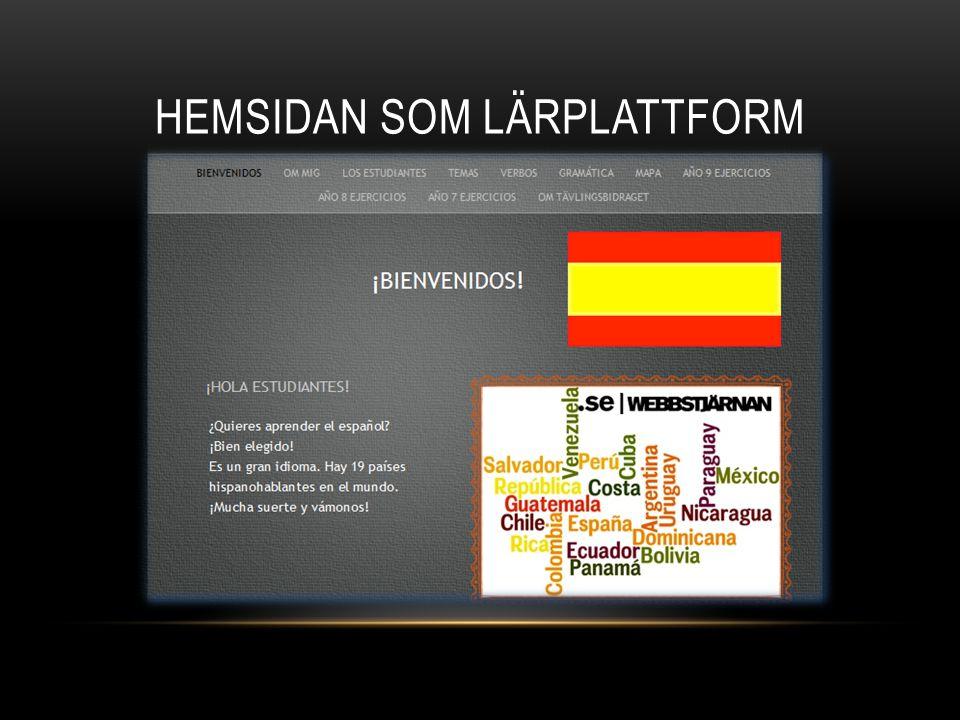 HEMSIDAN SOM LÄRPLATTFORM