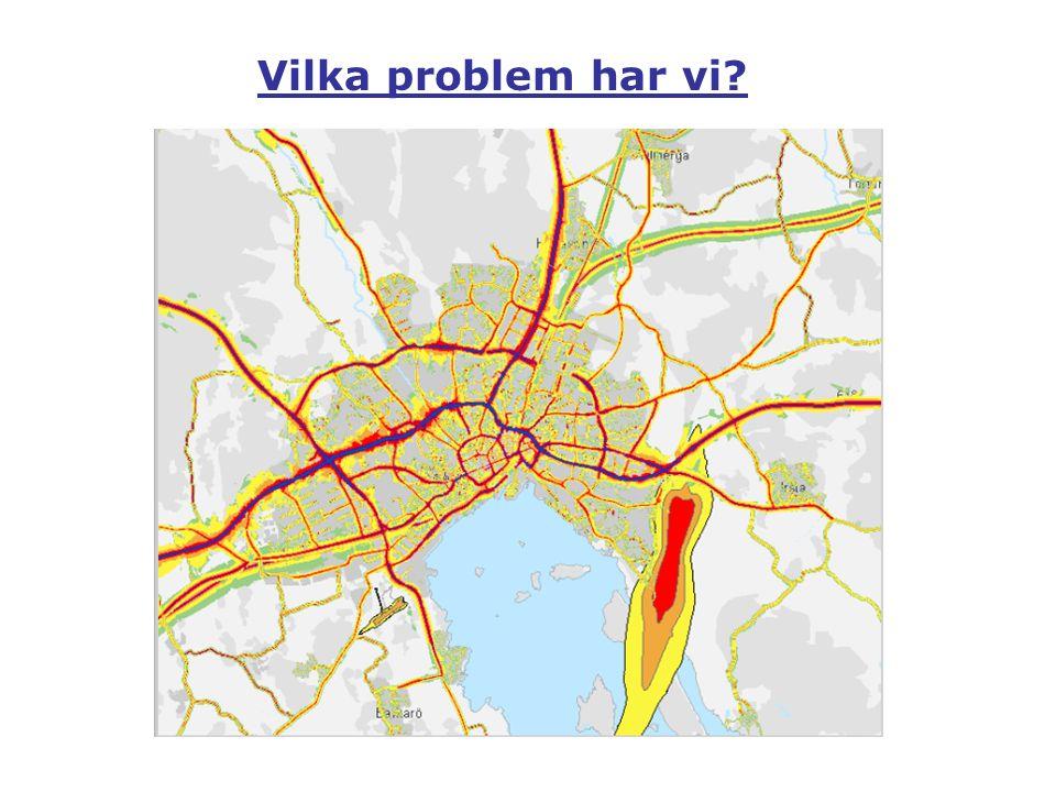 Buller Hälsa, livskvalitet I Sverige utsätts 1,6 miljoner för höga bullernivåer Vilka problem har vi?