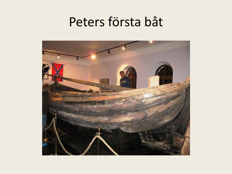 Peters första båt