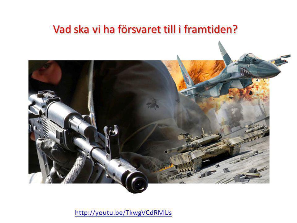 Vad ska vi ha försvaret till i framtiden? http://youtu.be/TkwgVCdRMUs