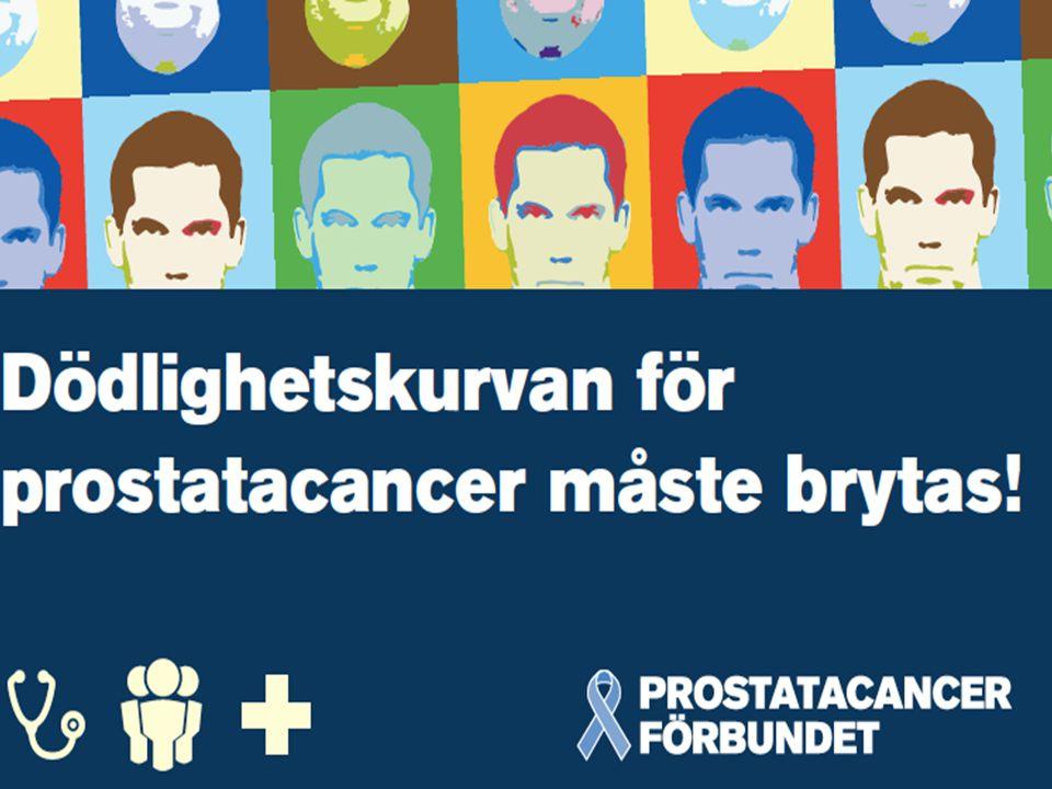 Dödlighetskurvan för prostatacancer måste brytas!