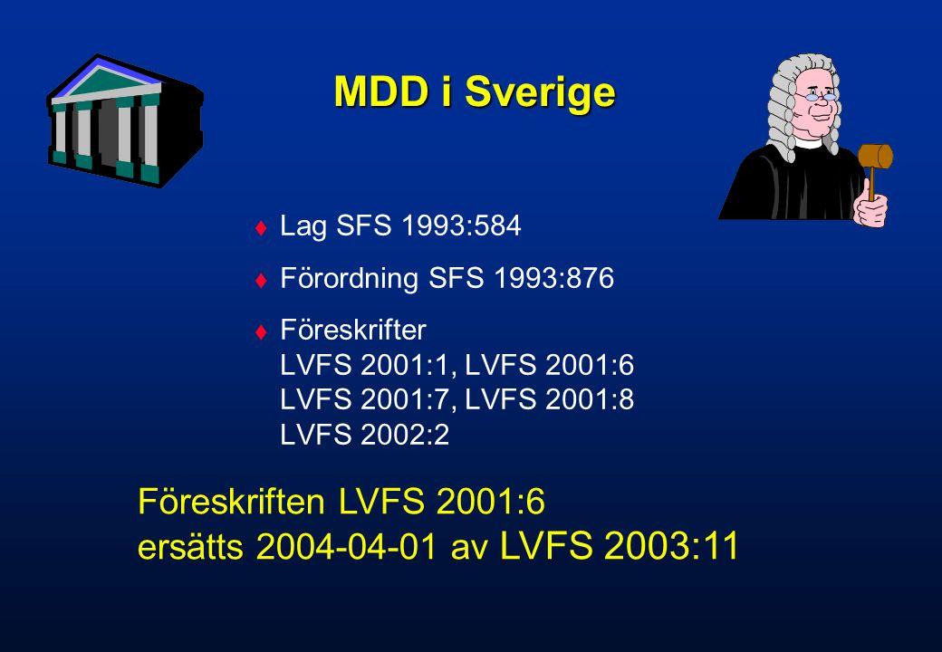 Historik  1995 - SEMKO AB Notified Body för MDD.