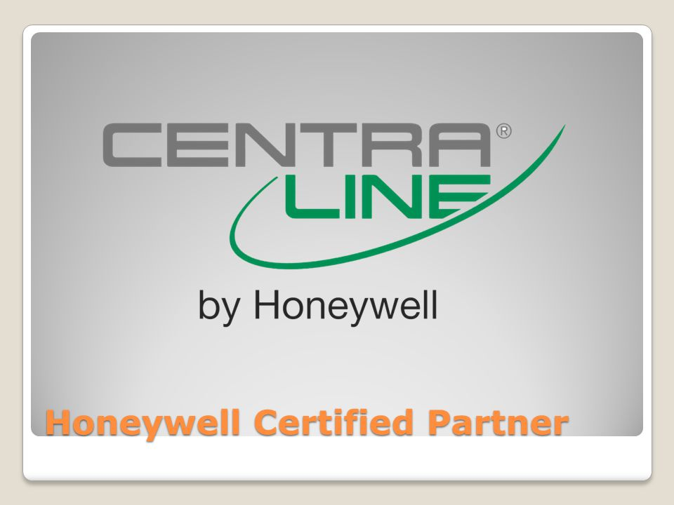 Honeywell Certified Partner