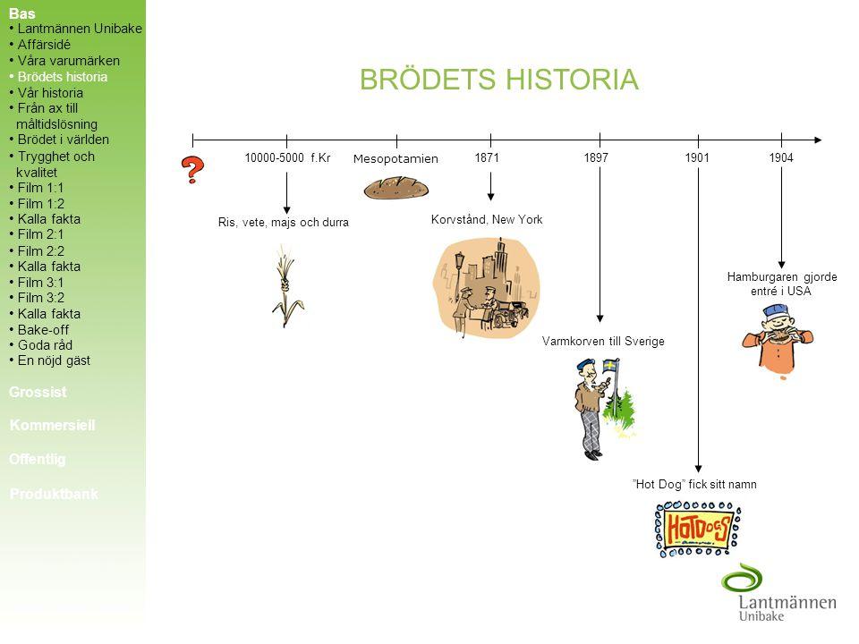 VÅRA VARUMÄRKEN Två av tre svenska korvbröd tillverkas av Korvbrödsbagarn. 275 anställda jobbar dygnet runt och tillverkar 2 miljoner bröd - per dygn!
