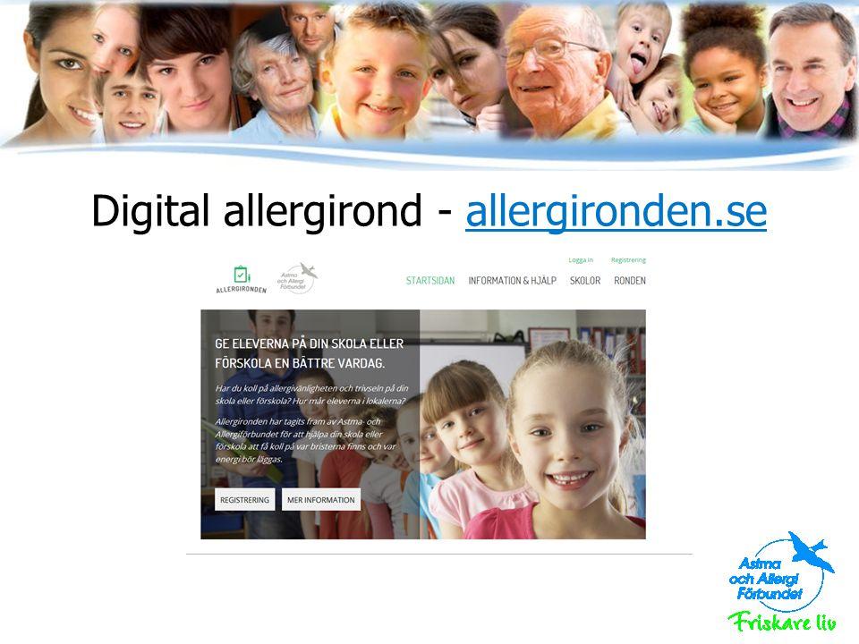Allergirond – vad är det.