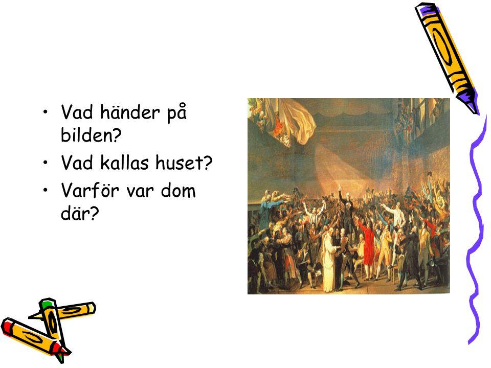 I Sverige heter det riksdag, men vad heter det i Frankrike? Vilka samlades där?