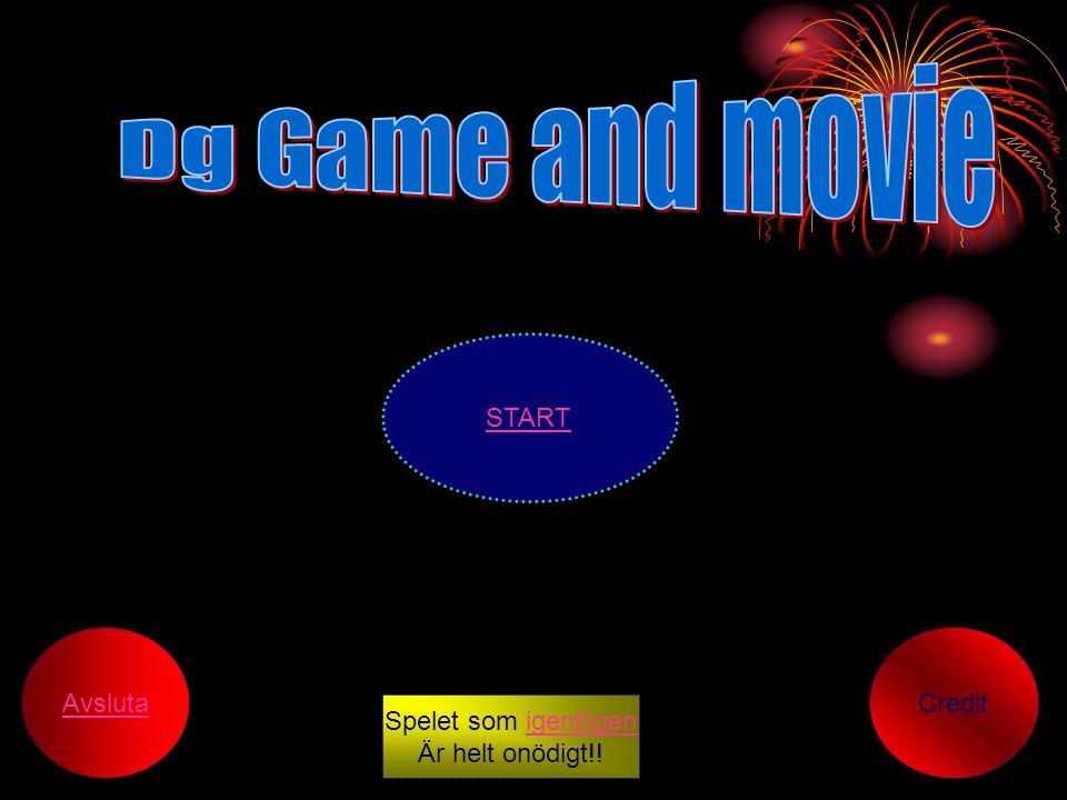 START Credit Avsluta Spelet som igentligenigentligen Är helt onödigt!!