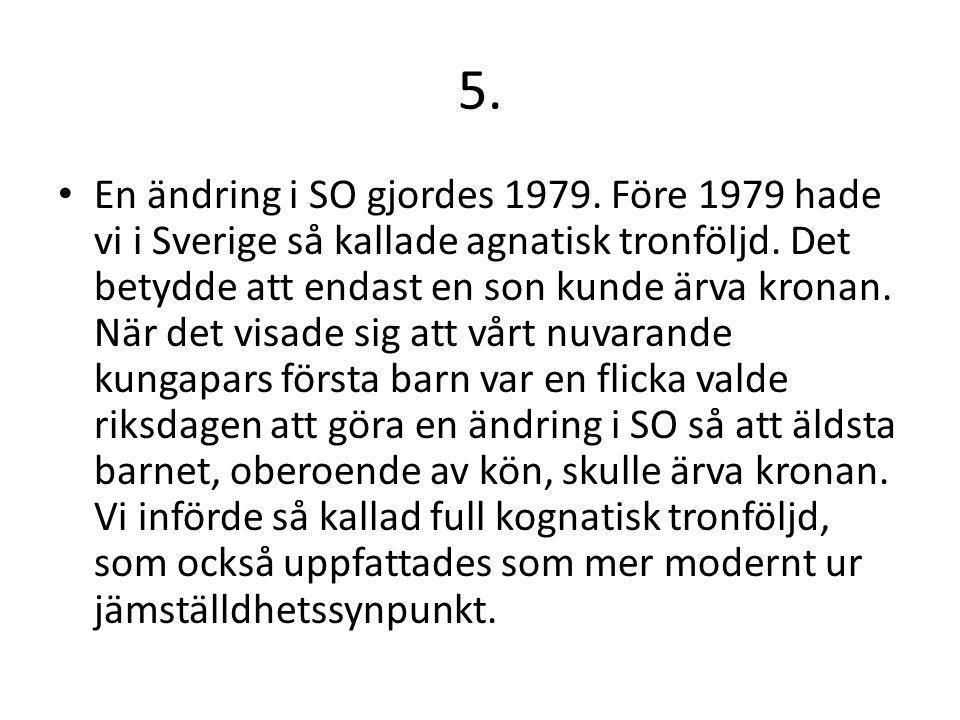 6.A) I RO regleras i detalj riksdagens arbete.