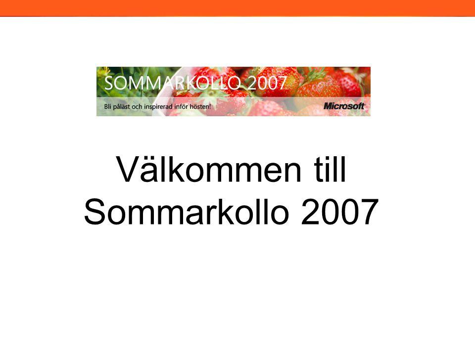 Välkommen till Sommarkollo 2007 2006