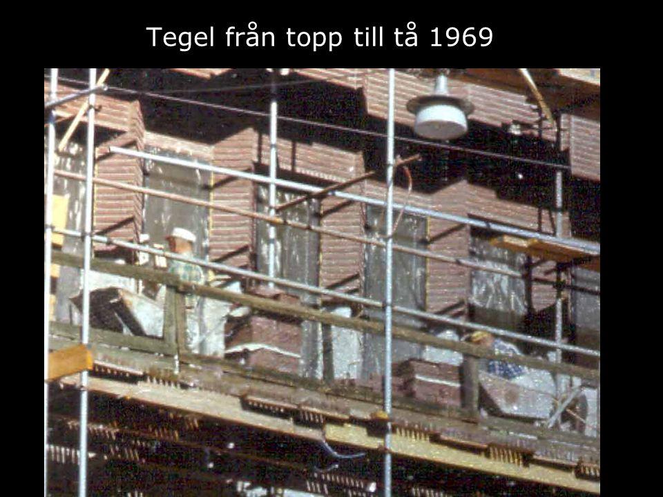 Tegel från topp till tå 1969