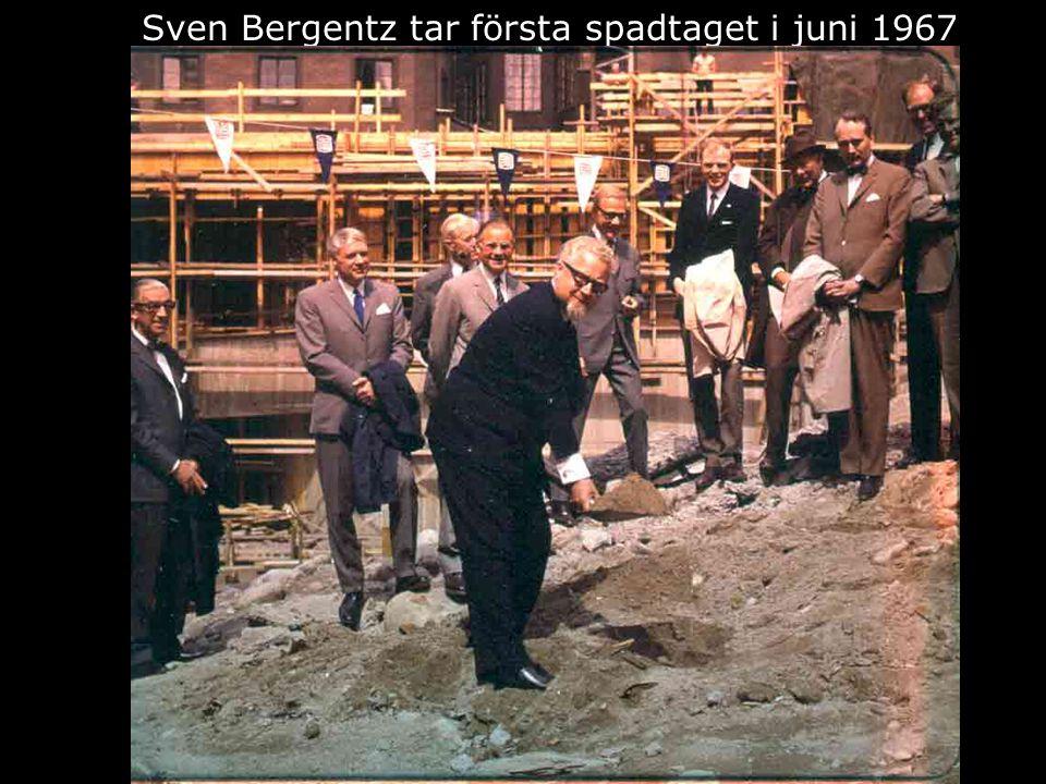 Femte höghuset blir till Sven Bergentz tar första spadtaget i juni 1967
