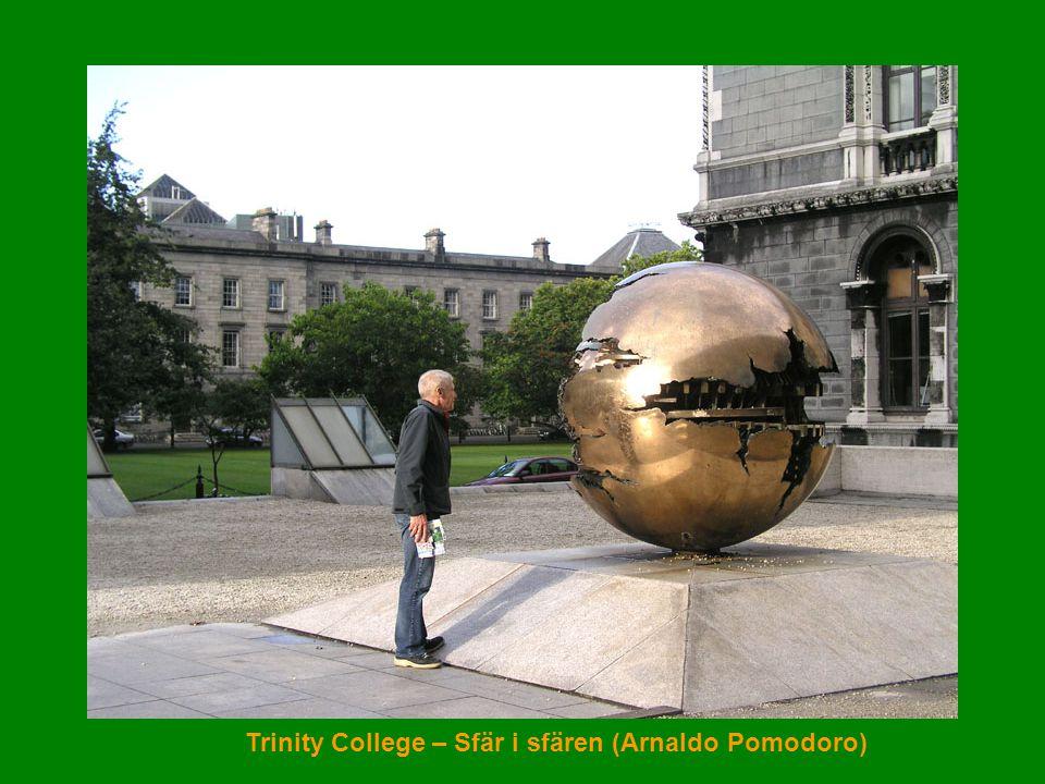 Trinity College – Sfär i sfären (Arnaldo Pomodoro)
