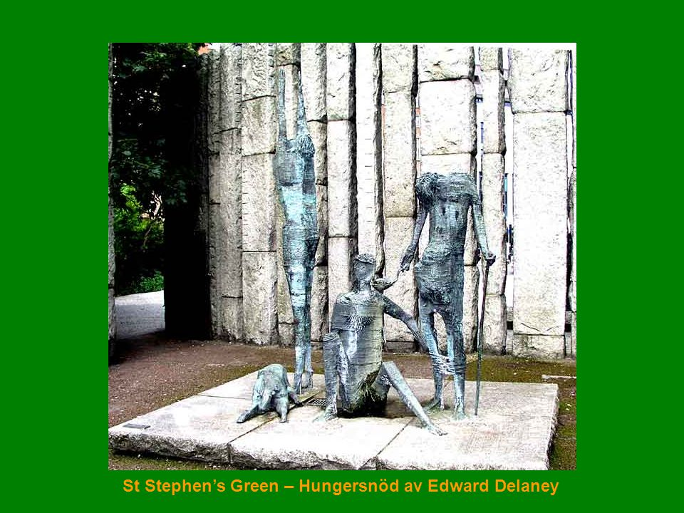 St Stephen's Green – Hungersnöd av Edward Delaney
