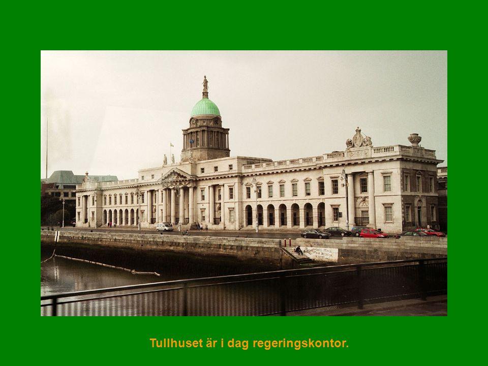 Tullhuset är i dag regeringskontor.