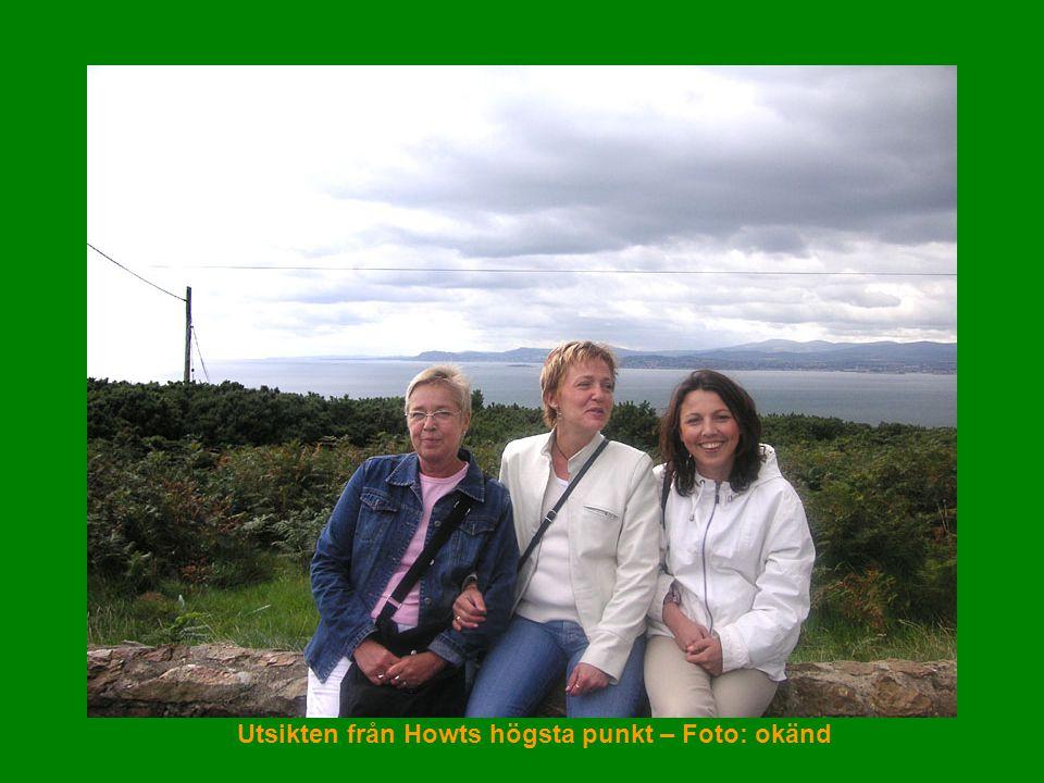 Utsikten från Howts högsta punkt – Foto: okänd