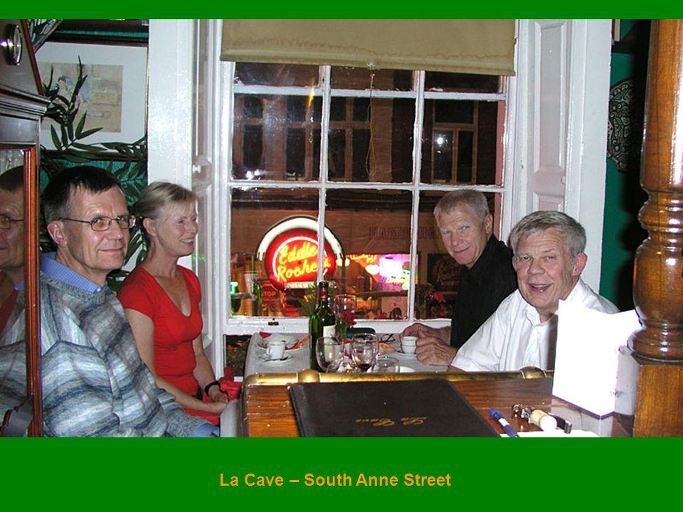 La Cave – South Anne Street