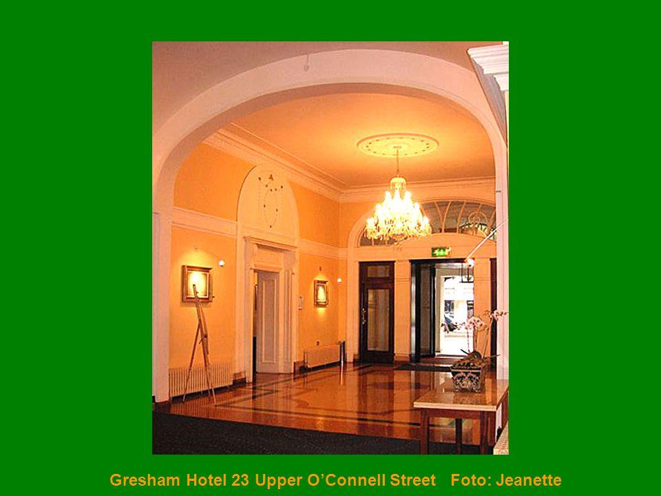 Gresham Hotel 23 Upper O'Connell Street Foto: Jeanette