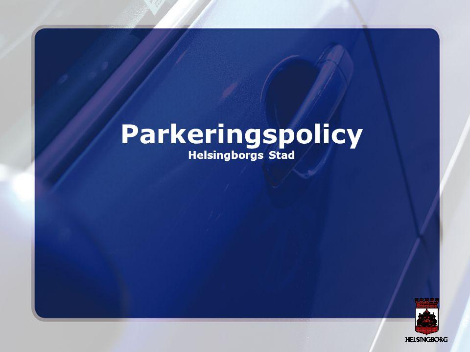 Åtgärdsförslag Parkeringen i planeringsskedet Kommunen bör samarbeta med privata aktörer för att öka samutnyttjande av parkeringar Alla bilägare som bor i centrum ska ha parkering, men får acceptera längre gångavstånd