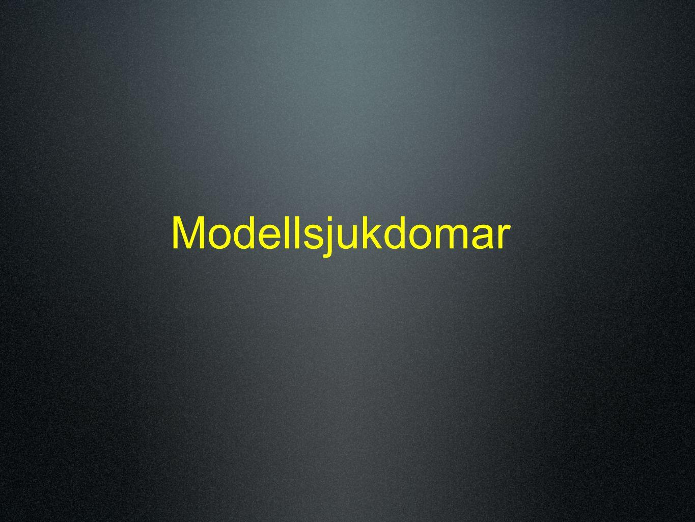 Modellsjukdomar