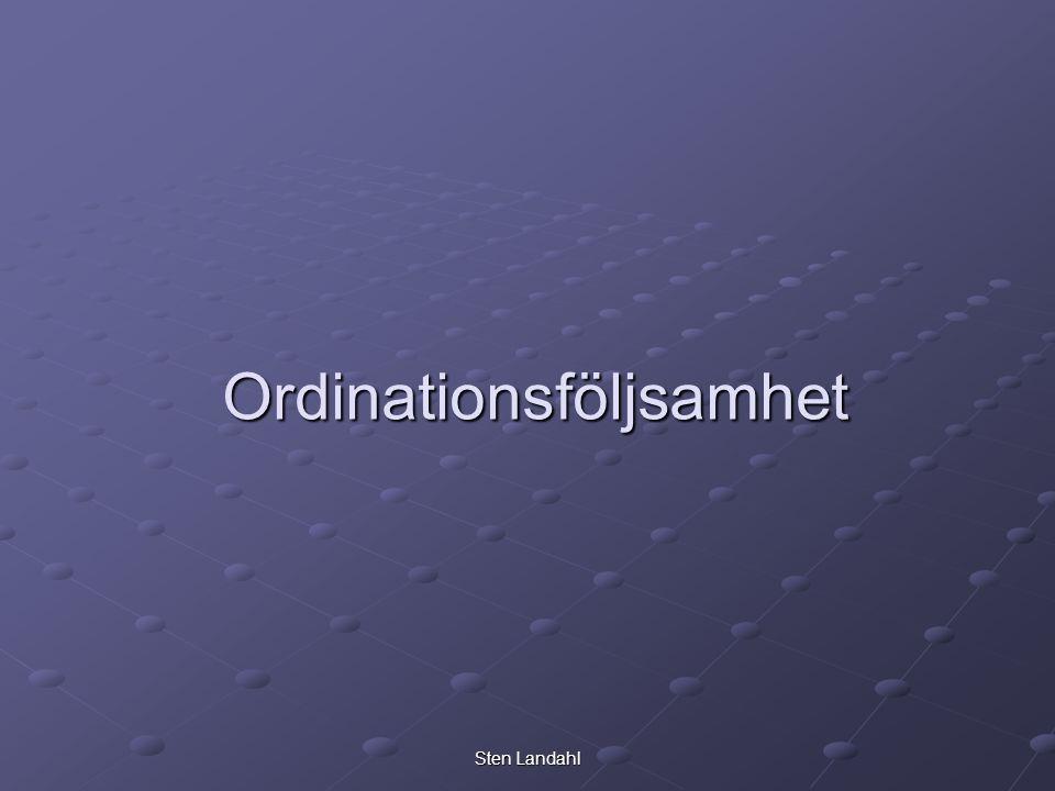 Sten Landahl Ordinationsföljsamhet
