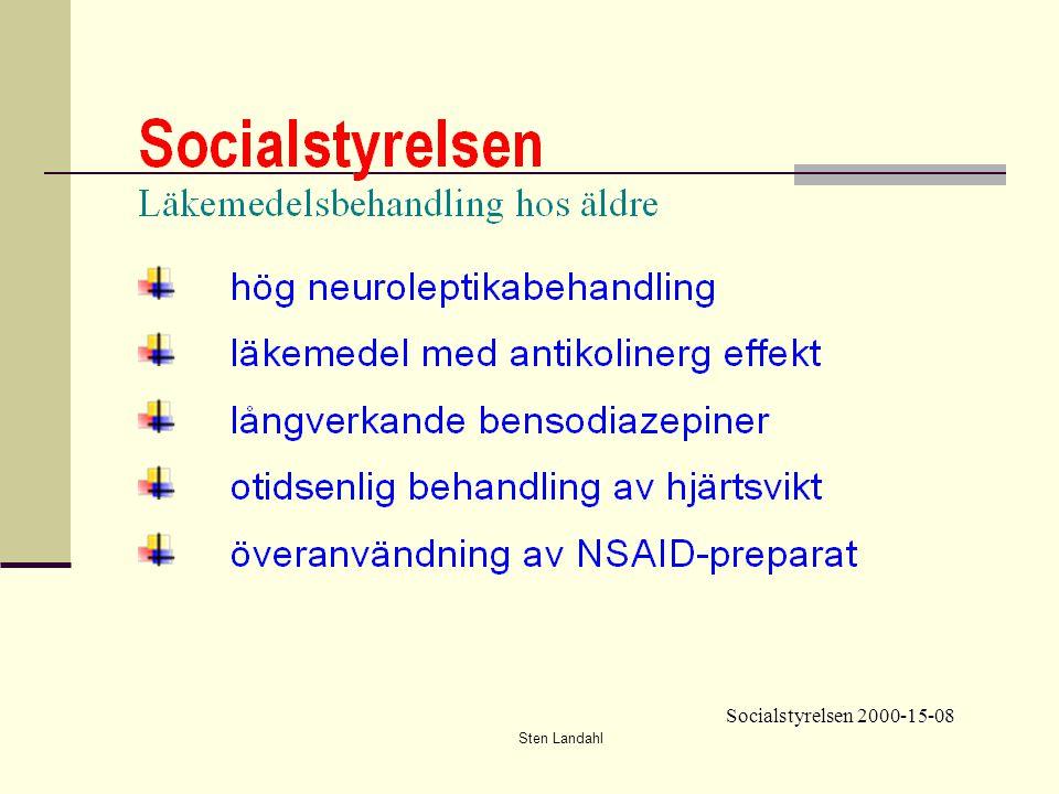 Sten Landahl Socialstyrelsen 2000-15-08