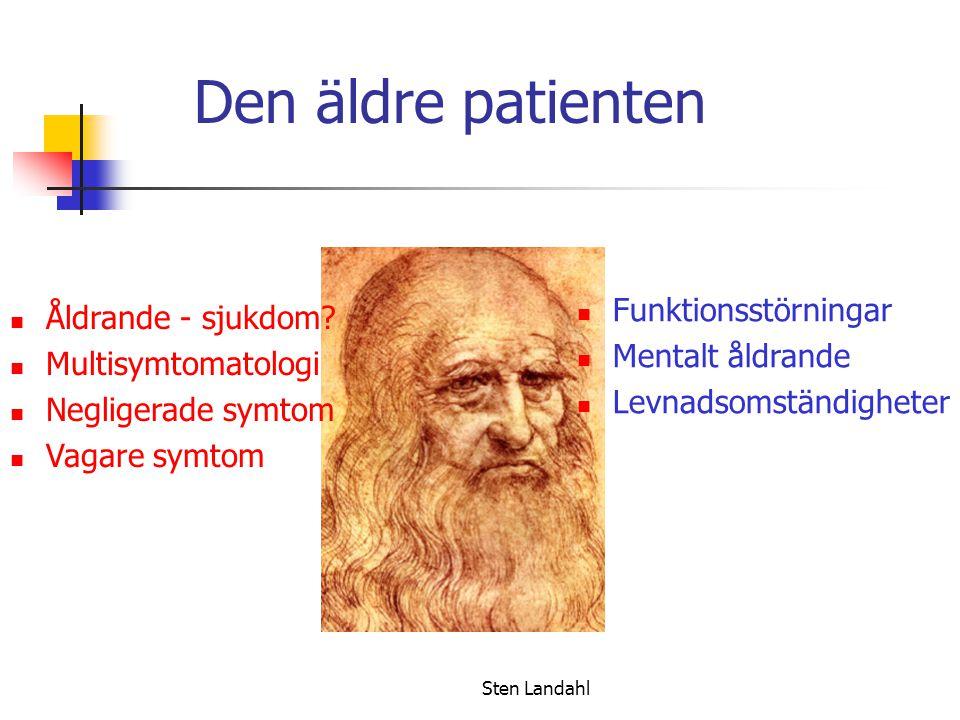 Sten Landahl Den äldre patienten Åldrande - sjukdom.