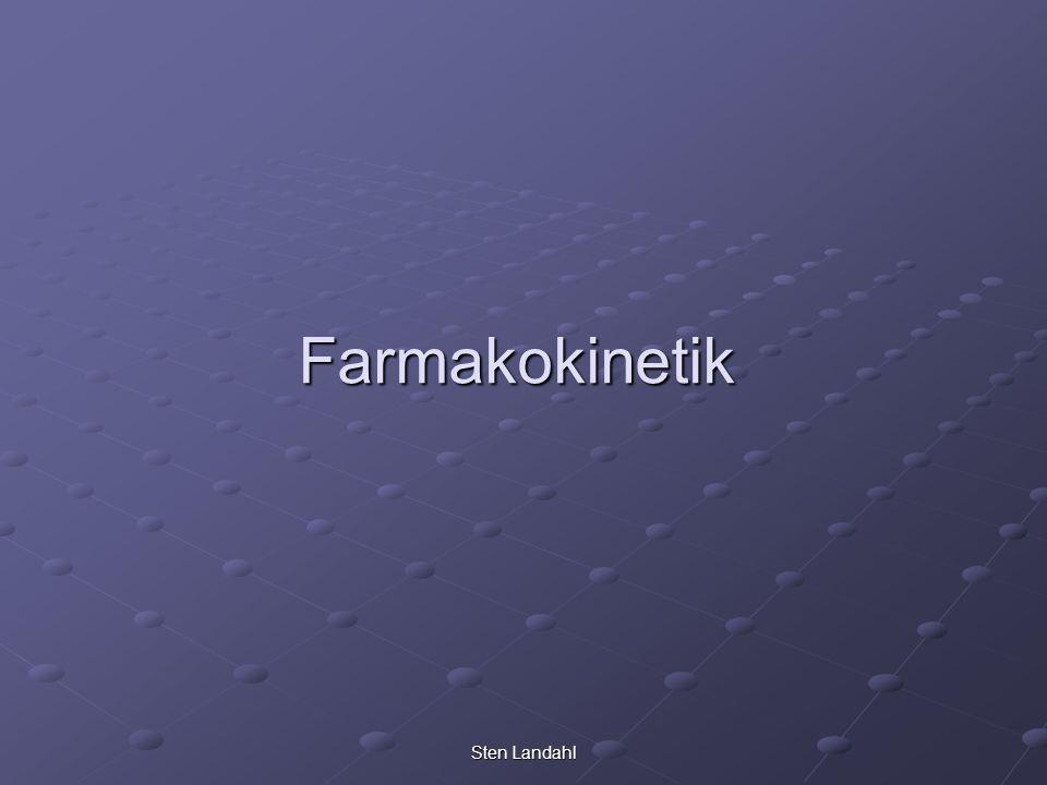 Sten Landahl Farmakokinetik