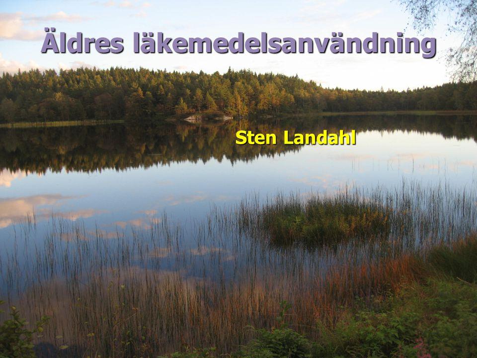 Äldres läkemedelsanvändning Sten Landahl