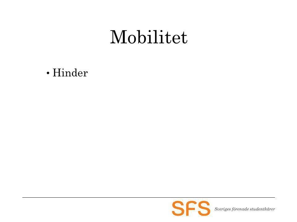 Mobilitet Hinder