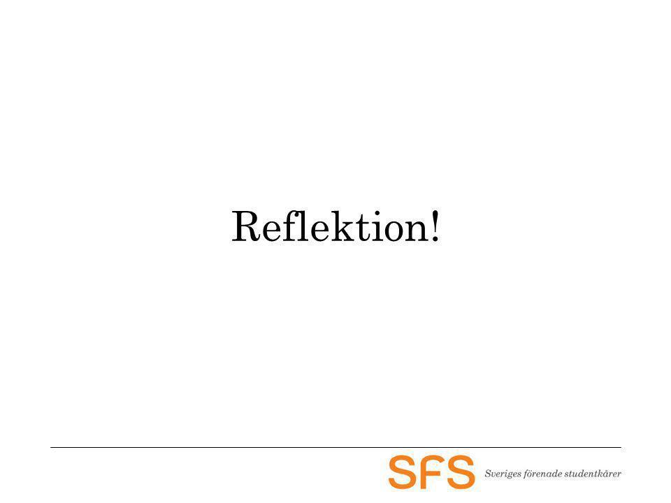 Reflektion!