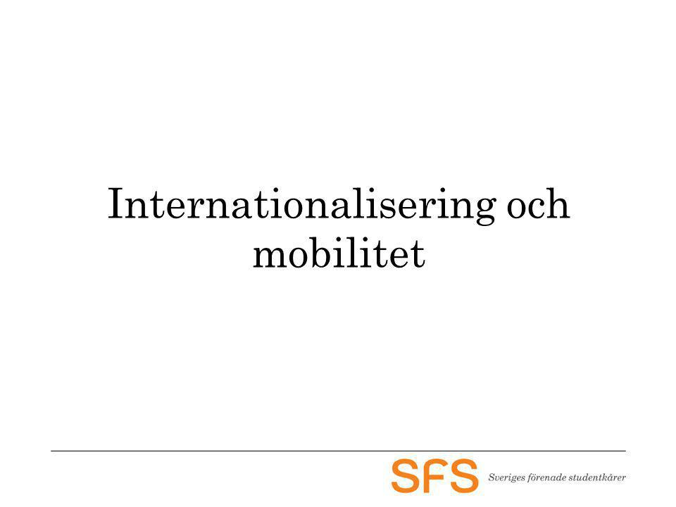 Internationalisering och mobilitet