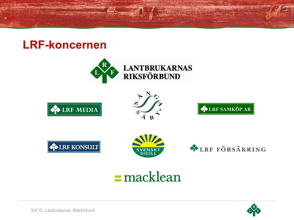 Sid 10 | Lantbrukarnas Riksförbund LRF-koncernen