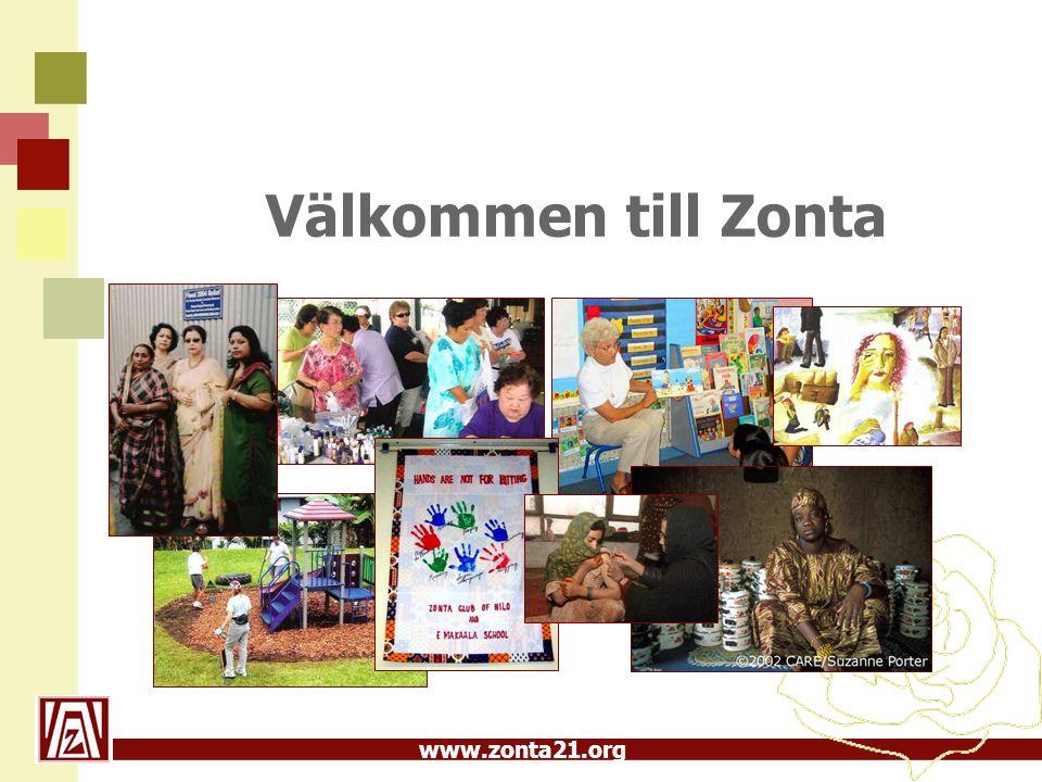 www.zonta21.org Välkommen till Zonta