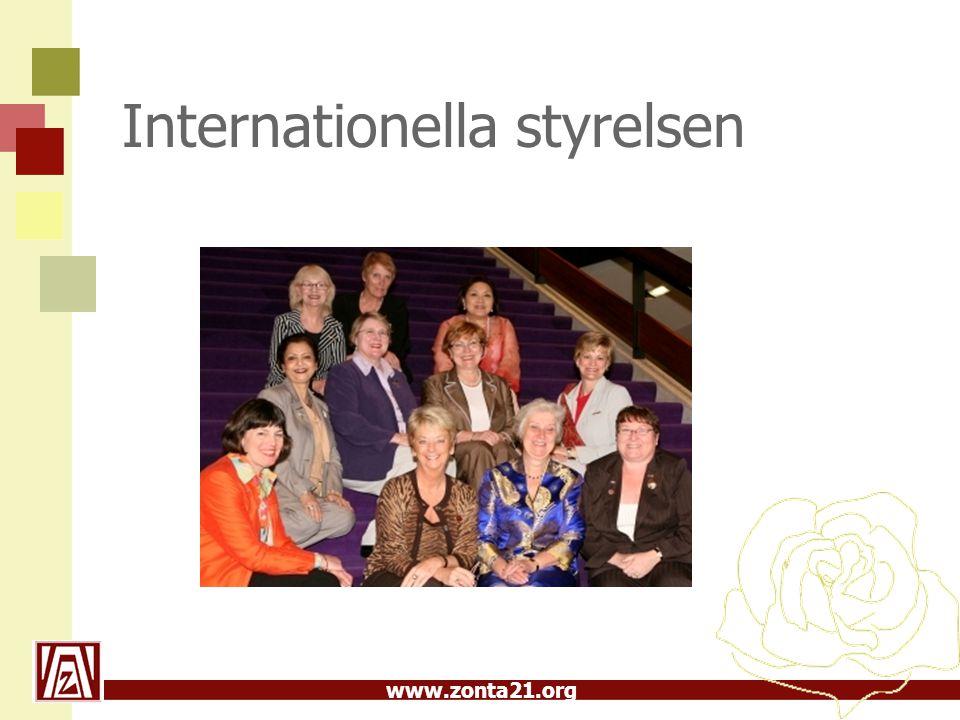 www.zonta21.org Internationella styrelsen