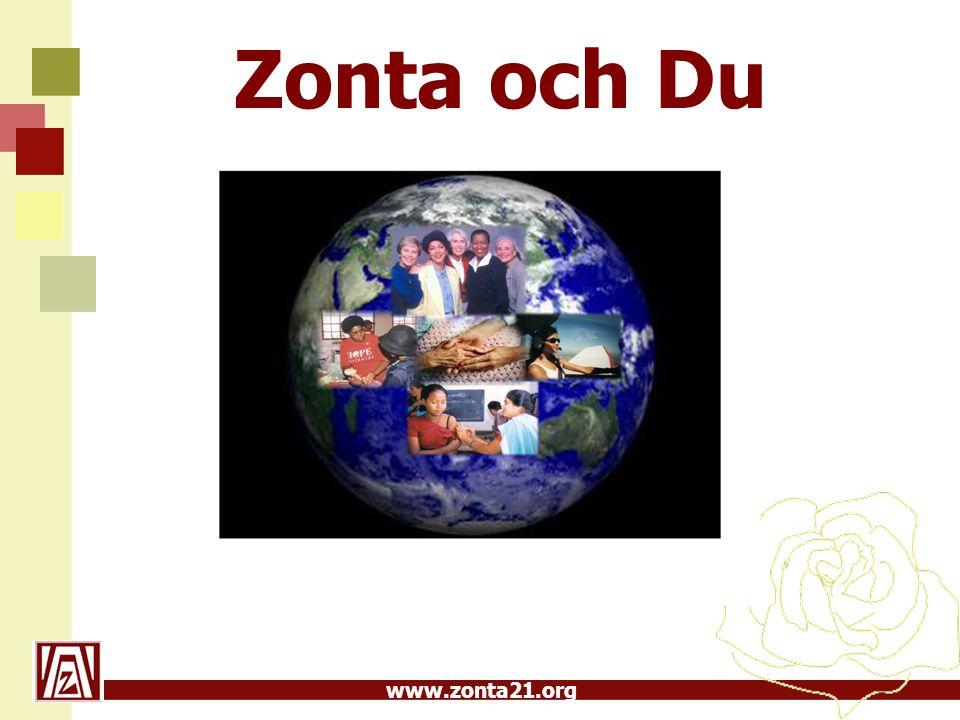 www.zonta21.org Zonta och Du