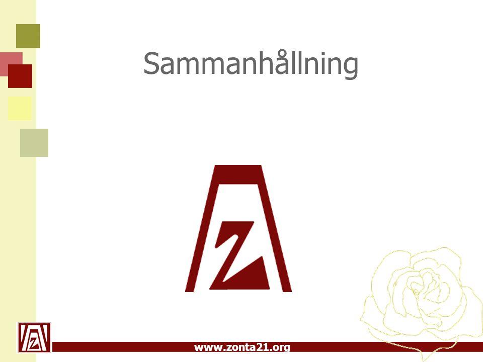 www.zonta21.org Sammanhållning