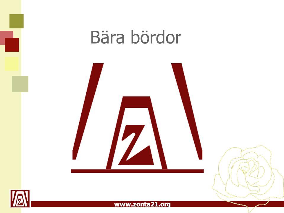www.zonta21.org Bära bördor