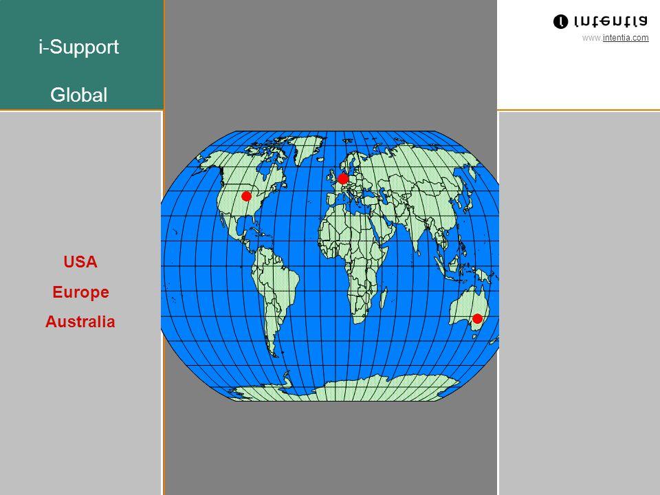 www.intentia.com Intentia Std ver 1.0 May 2000 10 Intentia Support 24 X 7 Vår lösning Americas Europe Asia Pacific Användning av tidszoner för att erbjuda support 24 X 7 Follow the SUN