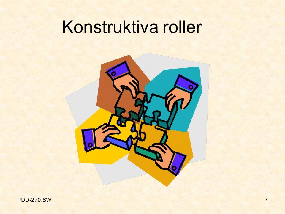 PDD-270.SW7 Konstruktiva roller