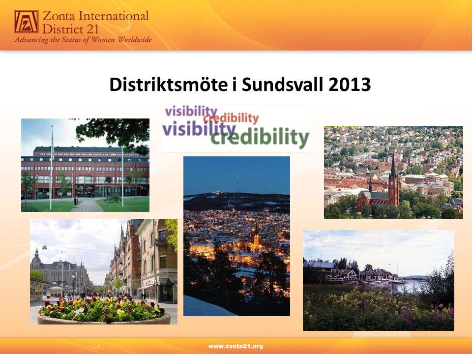Distriktsmöte i Sundsvall 2013