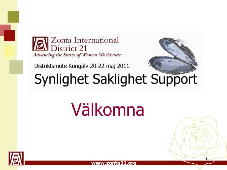 www.zonta21.org Välkomna 1
