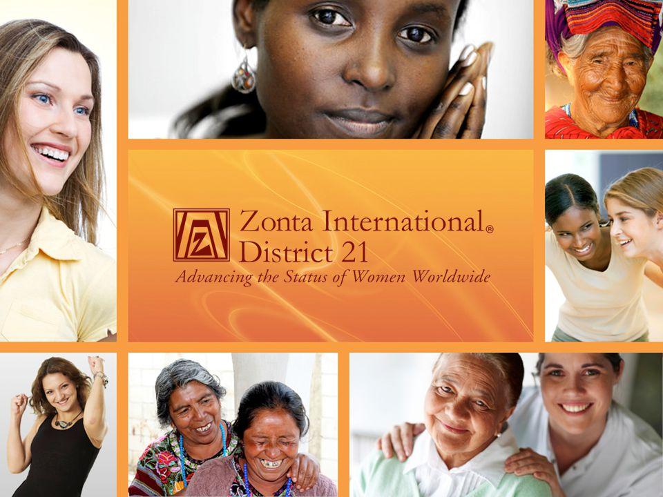 Zonta International ( ZI ) Medlemsorganisation Inkomsterna kommer från medlemsavgifterna Täcker de operativa kostnaderna för ZI och ZIF Zonta International Foundation ( ZIF) Välgörenhetsorganisation Inkomsterna kommer från bidrag Täcker utdelning till serviceprojekt och utbildningsprogram