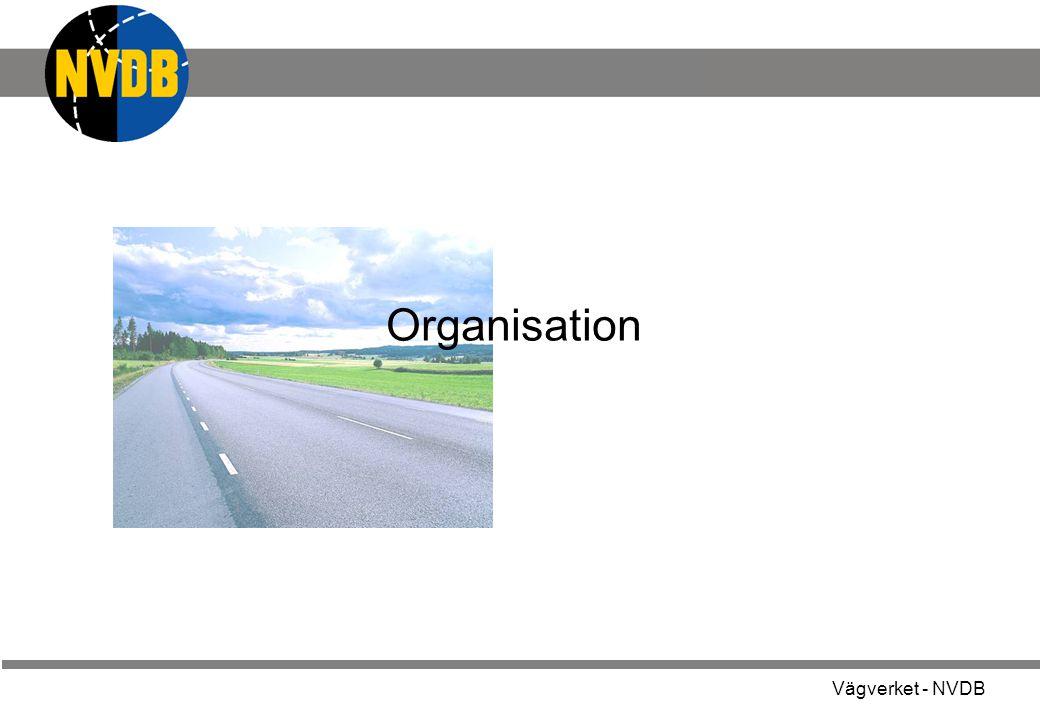 Vägverket - NVDB NVDB - ett samarbetsprojekt